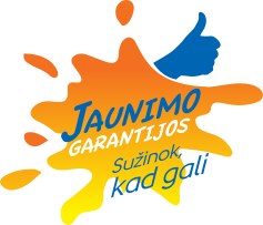 Jaunimo garantijos logo